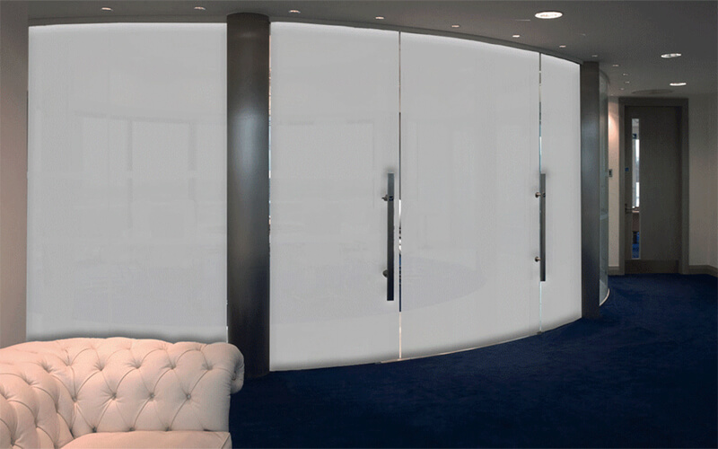 Viso-Curved-Partitions-Switch-Glass on