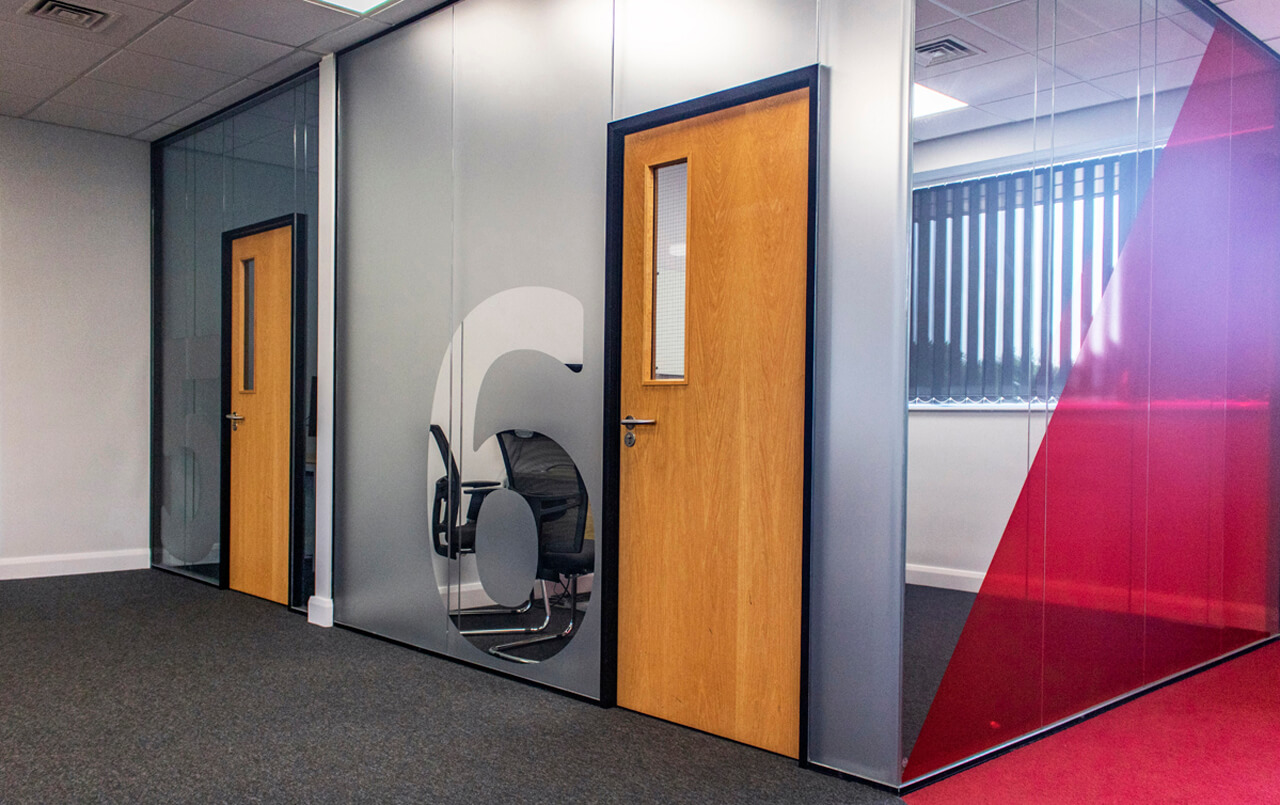 Viso Double Glazed Partitioning 11