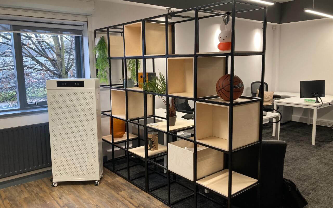 KT2 open plan office
